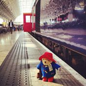 Paddington Bear..... I loved paddington bear when I was little!