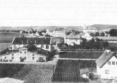Celkový pohled na budovy šlechtitelské stanice.