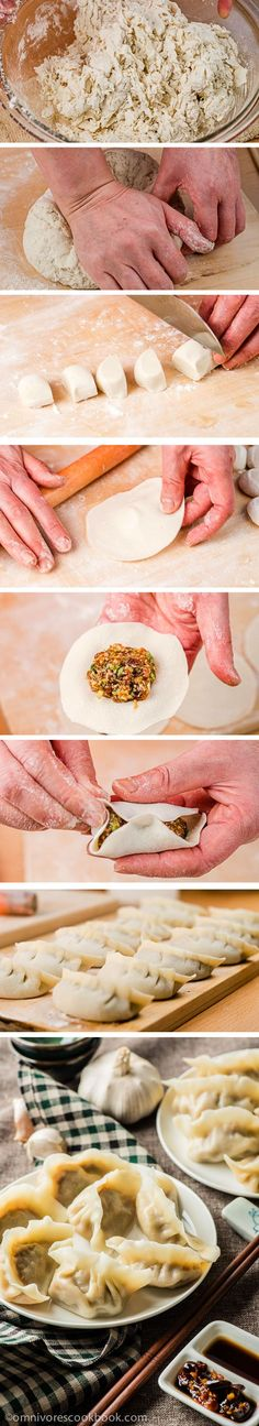 How to Make Chinese Dumplings from Scratch (The Ultimate Guide with Cooking Video) | omnivorescookbook