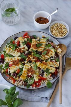 Veggie Recipes, Vegetarian Recipes, Dinner Recipes, Healthy Recipes, Healthy Food, I Love Food, Good Food, Yummy Food, Easy Diner