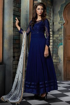 salwar-kameez/new-designer-blue-anarkali-suit Wholesale Hub Is Engaged In Wholesale, Bulk Manufacturing, Exporting, Supplying Of Ladies Ethnic Wear Such As Embroidery Salwar Kameez. Different Fabric Georgette, Cotton, Santoon, Silk, Brasso, Rasel Net, Etc. Designer Sarees, Casual Saris, , Designer Suits, Print Suits, Casual Kurtis, Silk Sarees, Embroidery Sarees, Party Wear Sarees, Party Wear Kurtis. Leggings Pain