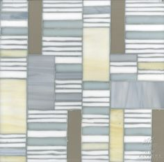 Kente mosaic in Agate, Opal, Moonstone and Aalto | The Erin Adams Collection for New Ravenna