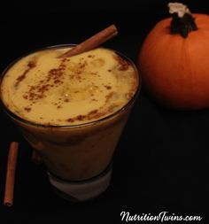 Pumpkin Spiced Latte | Only 71 Calories | No Artificial Creamers/Preservatives | Great way to Get Your Morning Boost | For MORE RECIPES please SIGN UP for our FREE NEWSLETTER www.NutritionTwins.com
