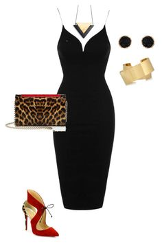 """""""Dress"""" by walwala-z on Polyvore featuring Rare London, Christian Louboutin, Humble Chic and Isabel Marant"""