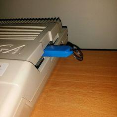 #Gotek #cortex flashed drive installed and rocking #retrogaming #commodore #amiga #retrocomputing