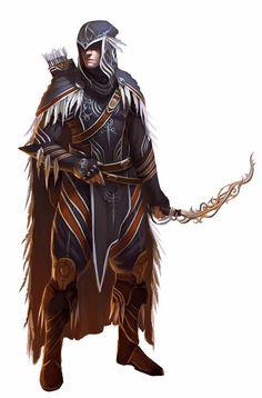 Male Elf Fighter Archer