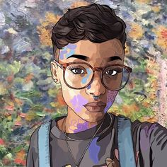 drew the most popular @099709 selfie took me a while but in really happy with how it turned out by rejectpasta