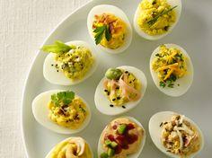 Deviled Eggs 11 Ways. Grandma would be proud.