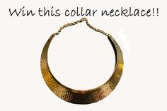 Kirstin Marie: Win a collar necklace!, ends on August 16, go here for more details:  http://www.fashionlovegiveaway.com/2012/08/kirstin-marie-win-collar-necklace.html