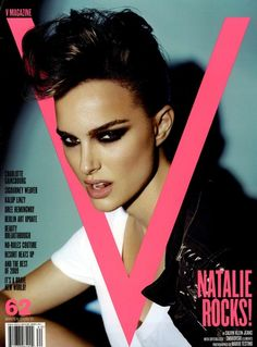 V Cover Winter 2009 Shot     Charlotte Tilbury makeup