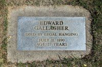 Clark County history: The 'hanging holiday' of 1890. Edward Gallagher infamous as the only person ever 'legally hanged' in Clark County