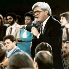 The Phil Donahue Show - he was on when I was a kid. I loved his show and learned a lot from watching it. He's still the best daytime talk show host ever!