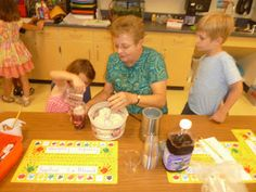 """Cooking in Kindergarten: Purple Cow Smoothies... to go along with reading """"Harold and the Purple Crayon"""""""