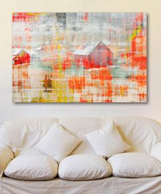 Another great find on #zulily! Barn Gallery-Wrapped Canvas #zulilyfinds