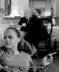 Christina Ricci as Elizabeth Wurtzel in Prozac Nation Prozac Nation, Movie Lines, Film Quotes, The Villain, My Mood, Mood Quotes, Quote Aesthetic, Movie Tv, Haha