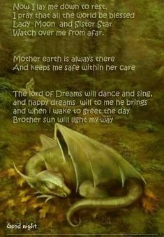 Pagan bedtime prayer for kids Wiccan Spells, Magick, Green Witchcraft, Wiccan Quotes, Easy Spells, Luck Spells, Wiccan Symbols, Magic Spells, Dragons
