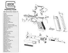 glock diagram | Gunsmithing | Pinterest | Guns