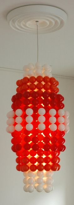 Verner Panton Gtype chandelier Wonderlamp balls door ICONICLIGHTS, €2025.00