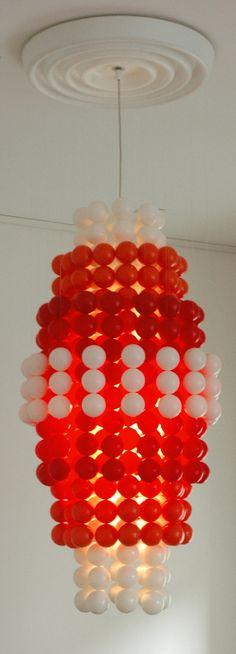 Verner Panton Gtype chandelier Wonderlamp balls door ICONICLIGHTS, €2025.00