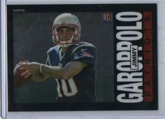 2014 Topps Chrome Jimmy Garoppolo Rookie 1985 Variation New England Patriots #NewEnglandPatriots