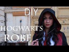 DIY: Hogwarts Robe - YouTube