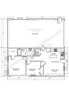 Barndominium Floor Plans, Pole Barn House Plans And Metal Barn Homes |  Barndominium Floor Plans