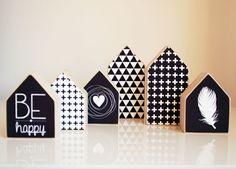 decoratie houten huisjes - Google zoeken