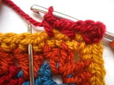 Crocheting blanket edgings is one of my most favourite things, I love the challenge of choosing exactly the right colours and designing exactly the right sort of finish to complete the blanket. This edging was designed specifically for the Cosy. Crochet Blanket Border, Crochet Borders, Crochet Flower Patterns, Crochet Blanket Patterns, Crochet Flowers, Crochet Blankets, Scrap Yarn Crochet, Knit Crochet, Hobbies And Crafts
