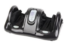 """Bid the stress and tension of the world """"farewell,"""" forever. This extraordinary and ergonomically-designed machine activates joints to maximize relaxation and release tension through the complicated network of nerves in your feet. The Shiatsu Kneading and Rolling Foot Massager soothes, calms and reinvigorates you whether you're in your favorite easy chair at home, or sitting in your desk chair at work."""