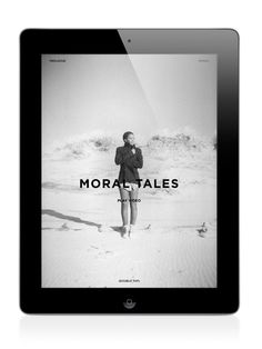 Letter to Jane Magazine: Moral Tales on Behance