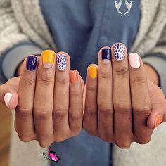 💅🏼: Amanda @ amandacure01 #thewnailbar {EASTON Dsw} #acrylicnails #valentinesnails<br> Minimalist Nails, Winter Nails, Spring Nails, Nail Summer, Cute Nails, Pretty Nails, Hair And Nails, My Nails, Dark Nails