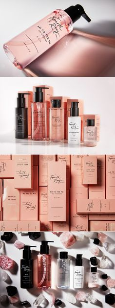 Fourth Ray – Fivestar Branding Agency packaging Fourth Ray Beauty skincare package design by Bess Li Cosmetic Packaging, Beauty Packaging, Brand Packaging, Design Packaging, Pretty Packaging, Skincare Branding, Branding Agency, Makeup Package, Cosmetic Design