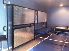 Fold away bunk beds