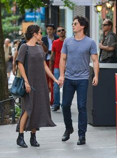 Nikki Reed and Ian Somerhalder out and about in New York (September 2016)