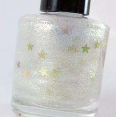 Make A Wish  Handmade nail polish  Gold by Sparklysharpfabulous, $7.00