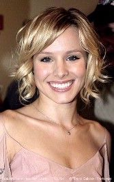 This is a nice one. Kristen Bell always has nice hair.