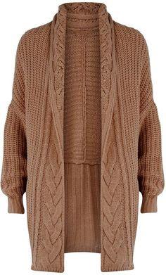 Women's Hand Knitted Long cardigan women's jacket