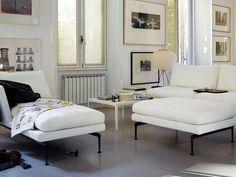 Vitra | Suita Chaise Longue large Headrest, Sofa 3-Seater, Platform