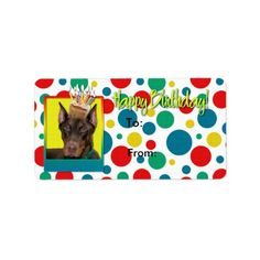 Shop Invitation Cupcake 2 Year Old - French Bulldog Label created by FrankzPawPrintz. Red Birthday Party, Birthday Cupcakes, Custom Address Labels, Return Address Labels, Dachshund Love, Getting Old, How To Be Outgoing, French Bulldog, Teal