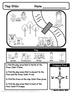 Here is one worksheet from my Where In the World Am I? kindergarten social studies unit. Check out my store to get the whole unit! :)