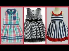 02993450521b Latest summer outfit designs for kids - Cotton frocks designs ideas 2018 -  YouTube