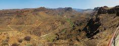 Panorámica desde El Mirador de Las Yeguas: San Bartolome de Tirajana.Gran Canaria by El Coleccionista de Instantes . on 500px