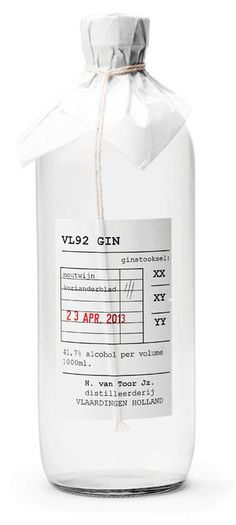 Packaging / VL92 Gin