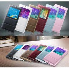 S-View Flipfodral, skal till Samsung Galaxy Note 4 - ALLTID FRI FRAKT hos www.CaseOnline.se   Ett snyggt S-view flip fodral gör det möjligt att besvara samtal, se klocka, mail, sms och en mängd annat. Besvara samtal utan att öppna fodralet! ett bra skydd för din Note 4 mobil.  #samsung #galaxy #note4 #N910f #s-view #skal #skydd #flip #flipfodral #sview #caseonline #fodral