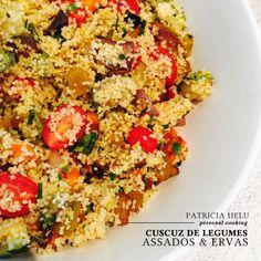 Patricia Helu: Cuscuz de legumes assados e ervas | CAROL BUFFARA