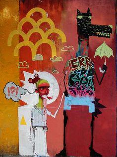 Rodrigo Branco. Brazil. Weird and wonderful #art #illustration #painting