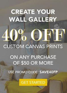 ave 40 percent on orders of $50 or more!