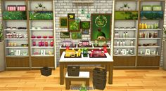 The Body Shop Store by Sandy at Around the Sims 4 via Sims 4 Updates