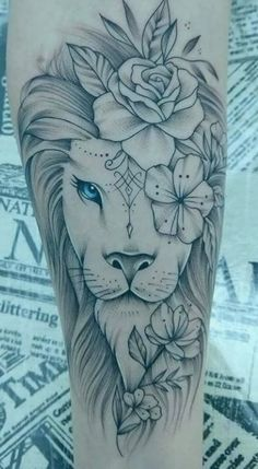 The 70 Best Internet Lion Tattoos [Männer und Frauen] - I love - The 70 Best Internet Lion Tattoos [Male and Female] – I Love … The 70 Best Internet Lion Tattoo - Leo Tattoos, Dream Tattoos, Body Art Tattoos, Music Tattoos, Portrait Tattoos, Watch Tattoos, Tattoo Drawings, Tatoos, Tattoo Ink