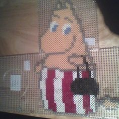 Moomin Mama hama beads by D3vil0020